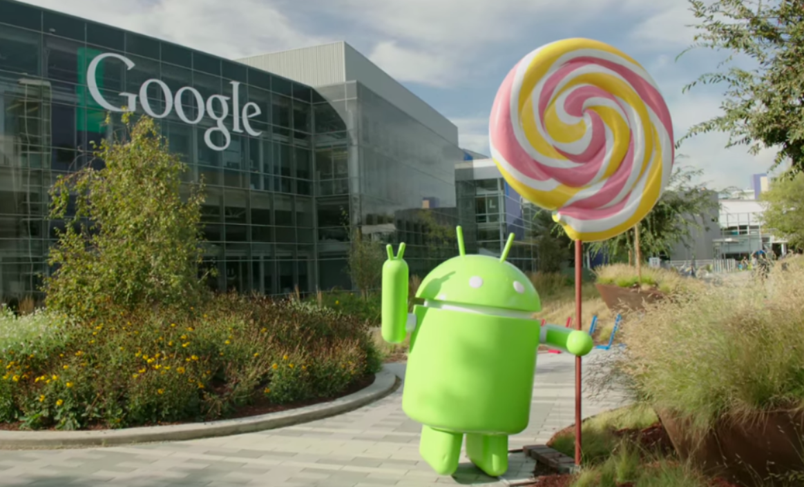 Here is the Android Lollipop statue outside of Googleplex