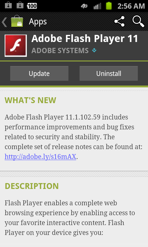 Comment installer Adobe Flash Player sur Android : Nougat ...