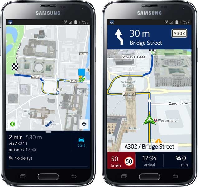 Route-and-Drive-S5-here-maps